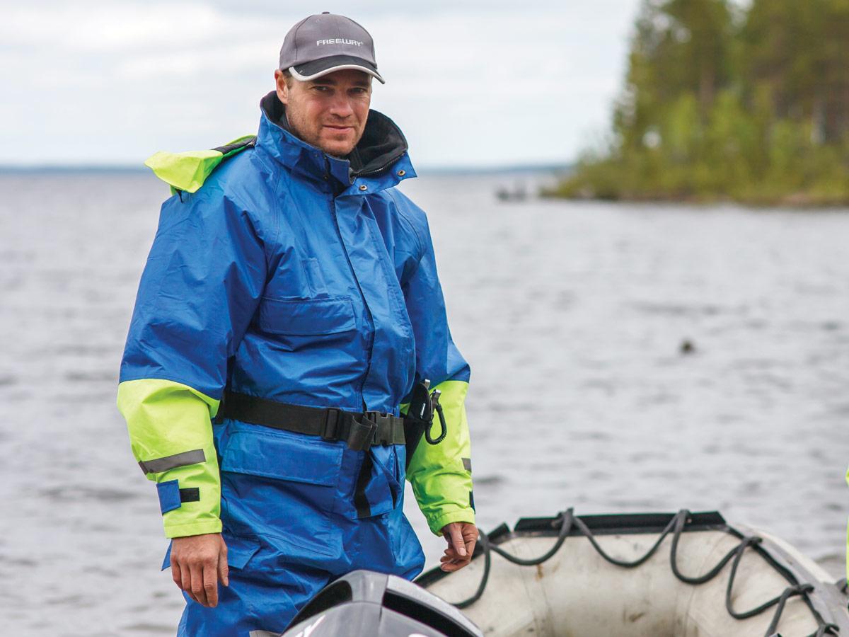 Костюмы для ловли рыбы в воде