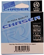 Леска FW CHASER TRANSPARENT 0.165 mm 100m